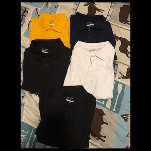 Boys 6/7 polo shirts